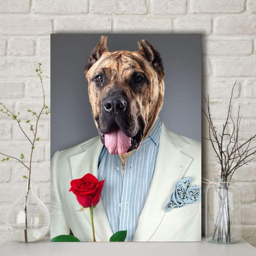 The Heartbreaker - Custom Pet Canvas