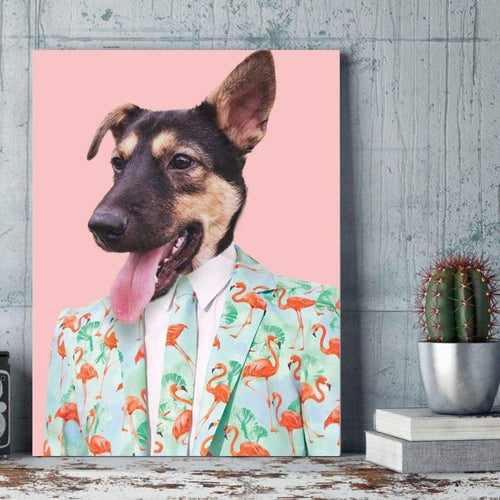 The Party Dude - Custom Pet Canvas
