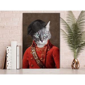 The Soldier - Custom Pet Canvas