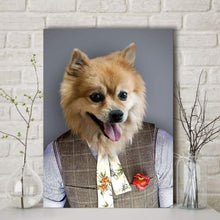 Load image into Gallery viewer, The Style Guru - Custom Pet Canvas