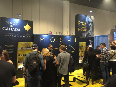 Moshi will be at VapeBlast in Ft. Worth