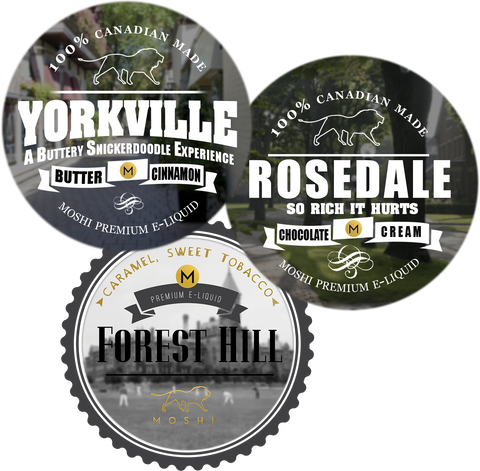 Yorkville, Rosedale, Forest Hill Sampler - 3 x 10ml