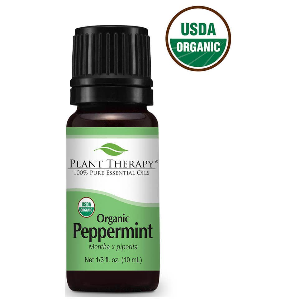 10 ml Peppermint Organic Essential Oil