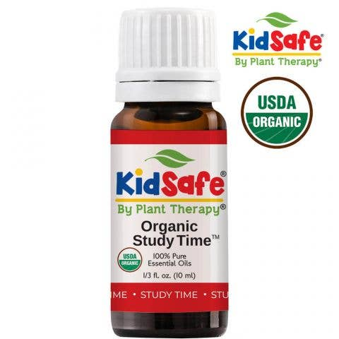 10 ml Study Time Organic Essential Oil
