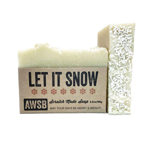 Holiday Bar Soap - Let It Snow