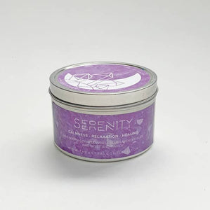 Serenity Crystal Candle
