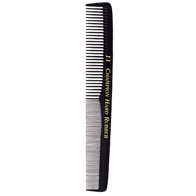 Champion #11 Hard Rubber Comb (C11)