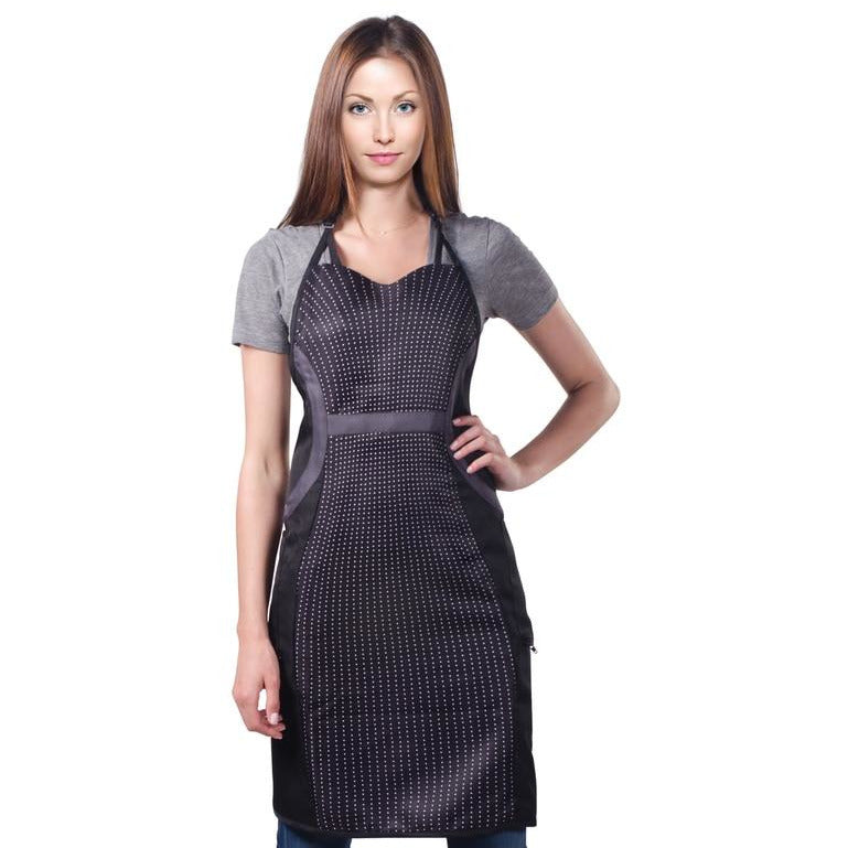 Cricket Slimming Apron - Sweetheart Dots