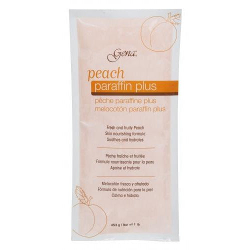 Gena Peach Paraffin Wax - 1lb