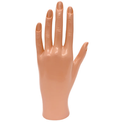 DL Pro Practice Hand With Cuticled Fingers (Hand-1)
