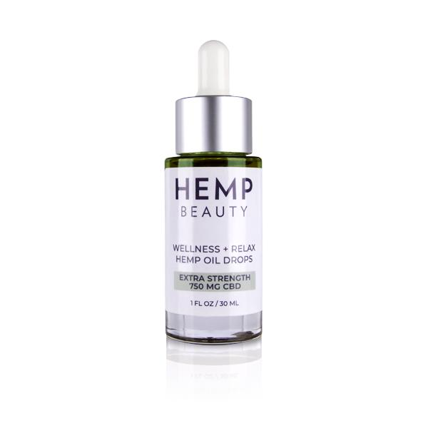HempBeauty CBD Drops Natural