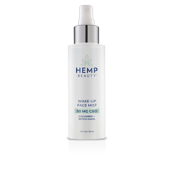 HempBeauty Wake Up Face Mist 4oz 50MG CBD