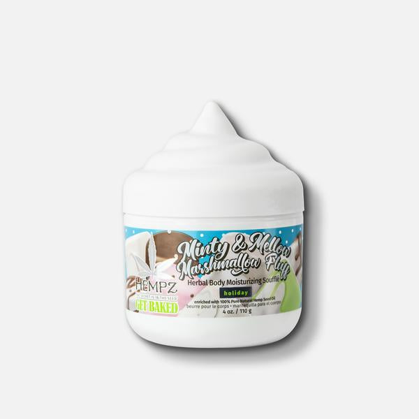 Hempz Minty & Mellow Marshmallow Fluff Herbal Body Souffle 4oz
