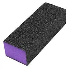 4 Way Buffing Blocks - Black/Purple