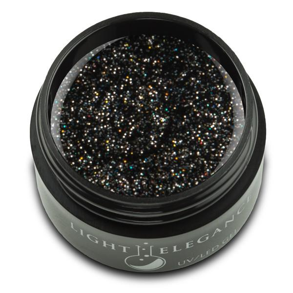 Light Elegance - Black Diamond Glitter Gel 17ml