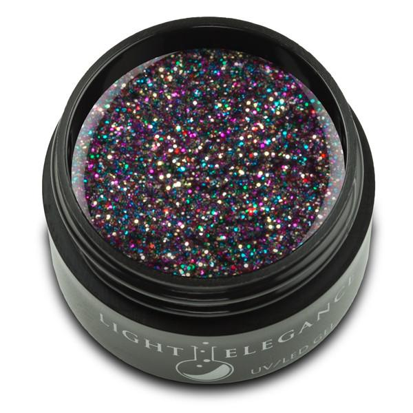 Light Elegance - Licorice Glitter Gel 17ml