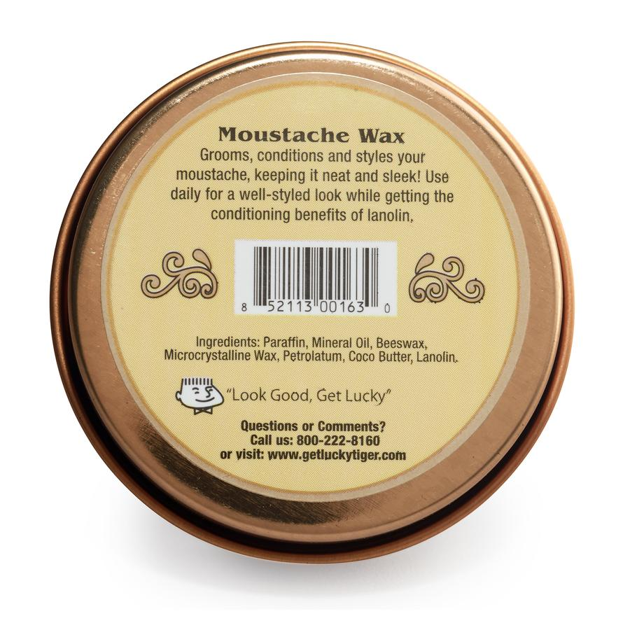 Lucky Tiger Moustache Wax Neutral (1.4oz)