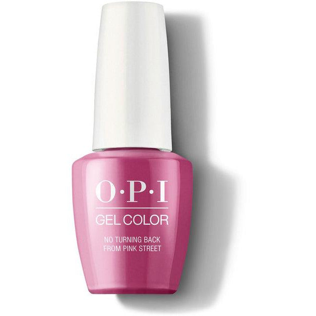 OPI GelColor - No Turning Back From Pink Street (GCL19)