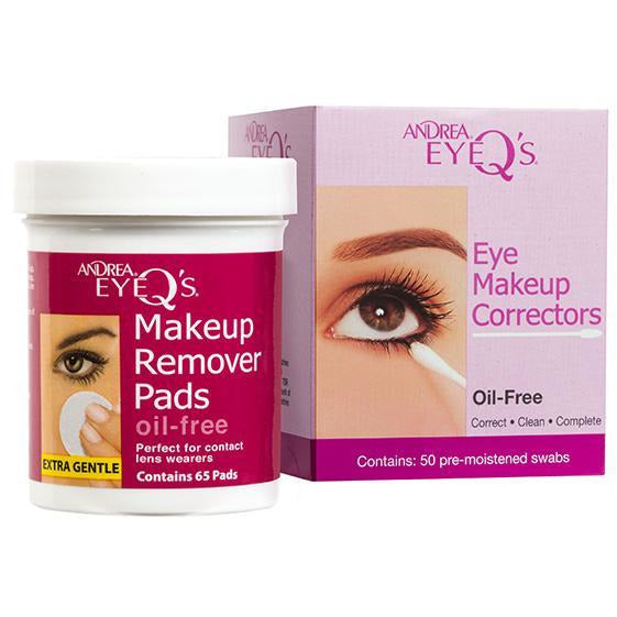 Andrea Eye Q's Oil Free - 65 ct