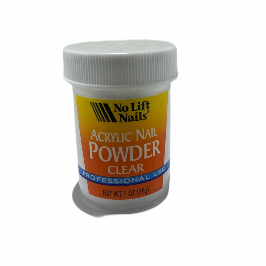 No Lift Acrylic Powder Clear - 1oz