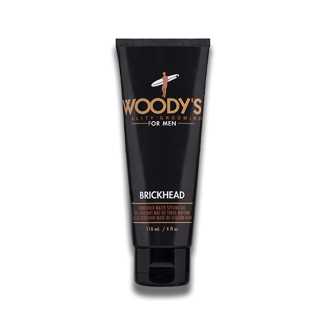 Woodys Brickhead Firm Styling Gel 4oz