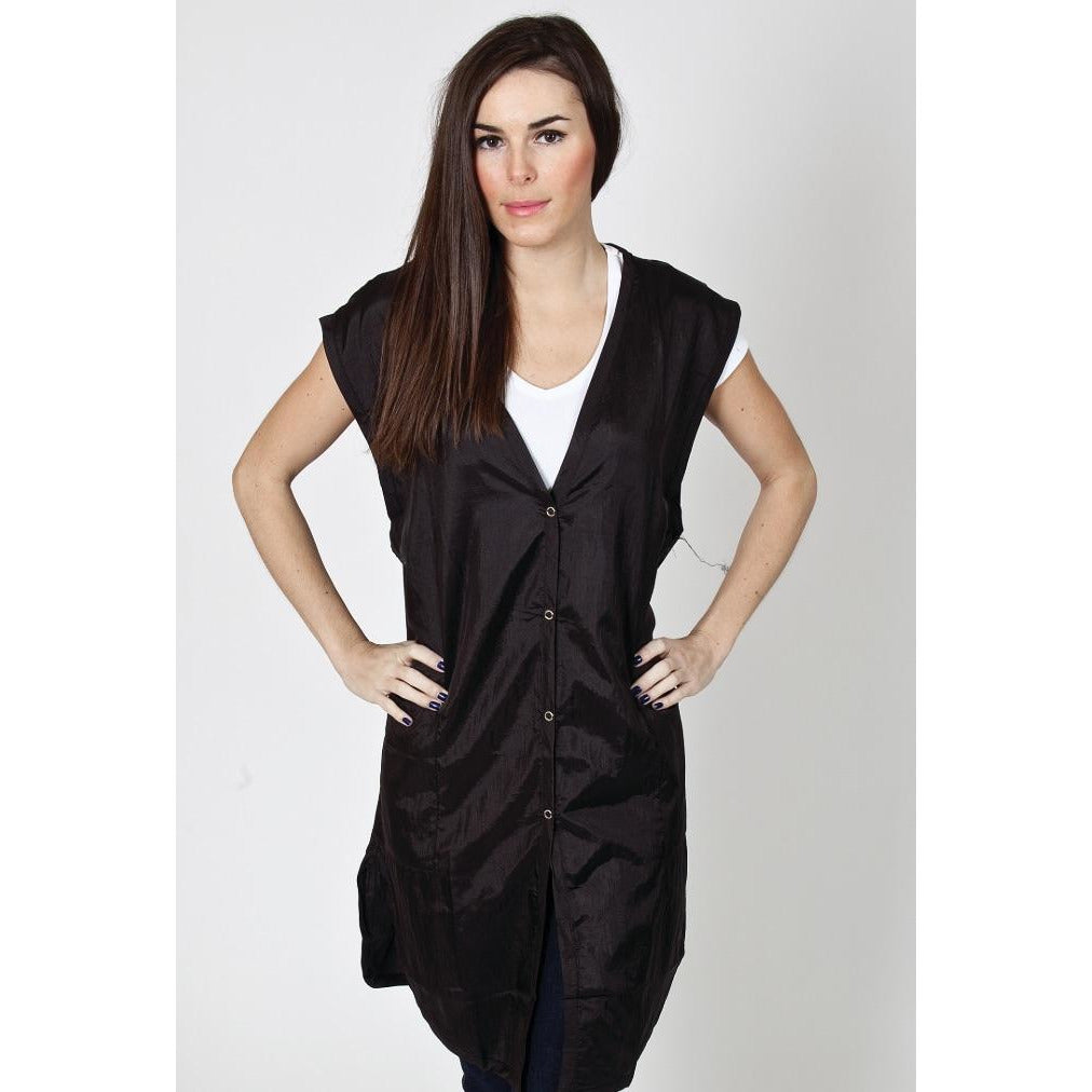 Marianna Sleeveless Smock - Black