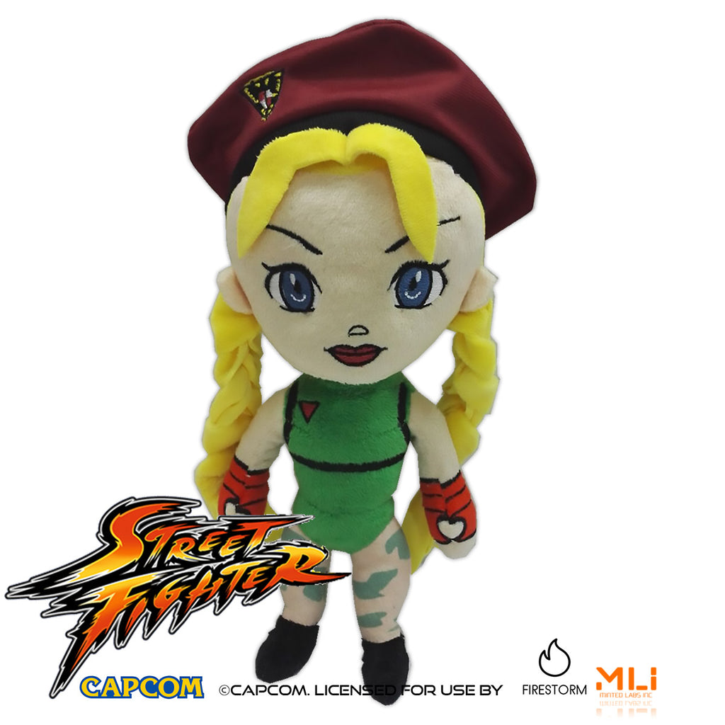Street Fighter 9″ Cammy Plush
