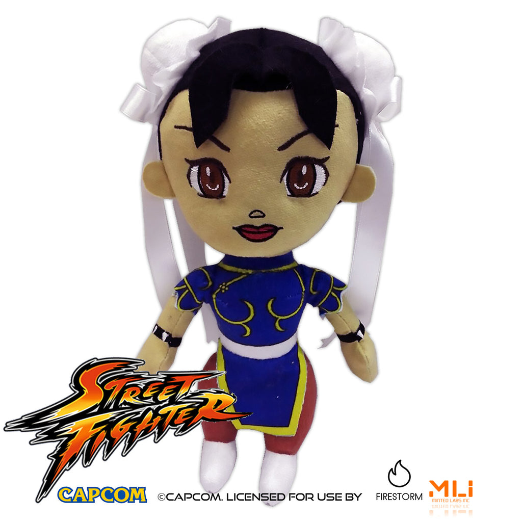Street Fighter 9″ Chun-Li Plush