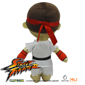 Street Fighter 9″ Ryu Plush
