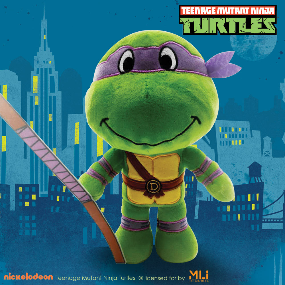 "Teenage Mutan Ninja Turtles 9"" Poseable Plush Donatello"