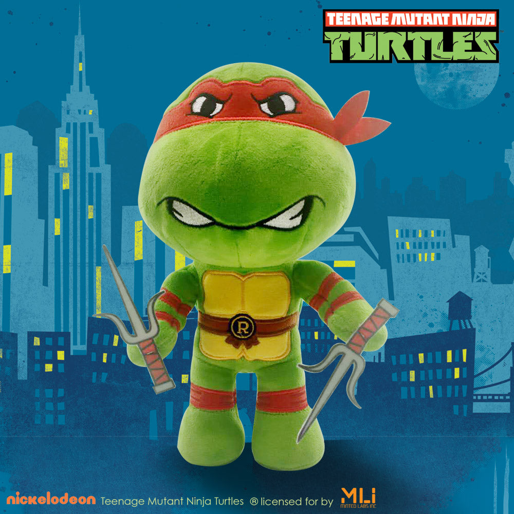 Teenage Mutant Ninja Turtles 9 Inch Poseable Plush -Raphael