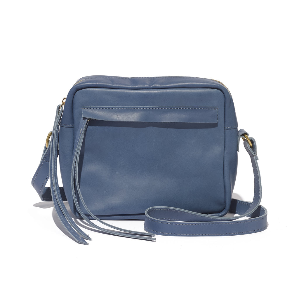 Addis Camera Bag // Ocean Blue - Raven + Lily