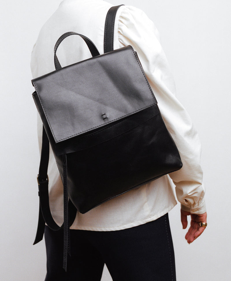 Addis Backpack // Flora - Raven + Lily