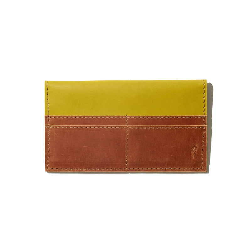 Addis Slim Wallet // Citronelle - Raven + Lily