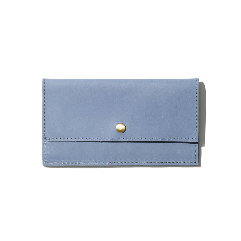Addis Slim Wallet // Ocean Blue - Raven + Lily