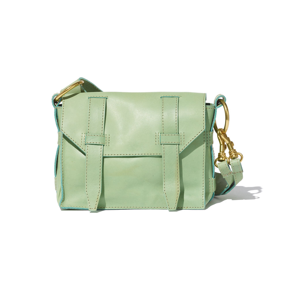 Day Mini Flap Crossbody // Menta - Raven + Lily