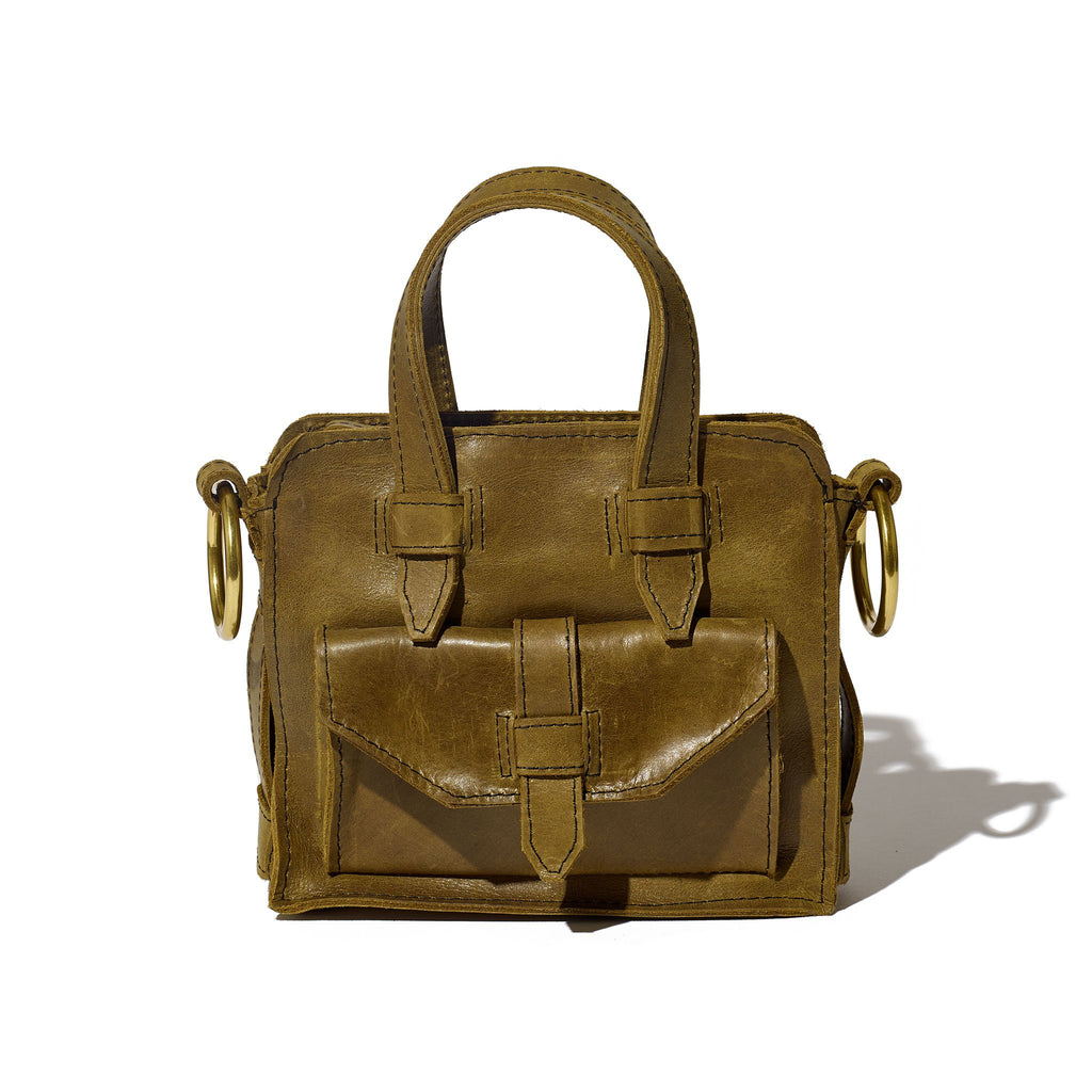 Day Mini Carryall // Olive - Raven + Lily