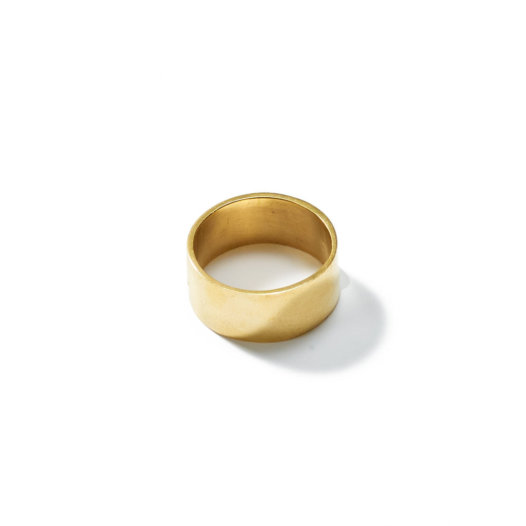 Ellsworth Wide Ring // 4 - Raven + Lily