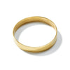 Ellsworth Wide Bangle // Brass - Raven + Lily