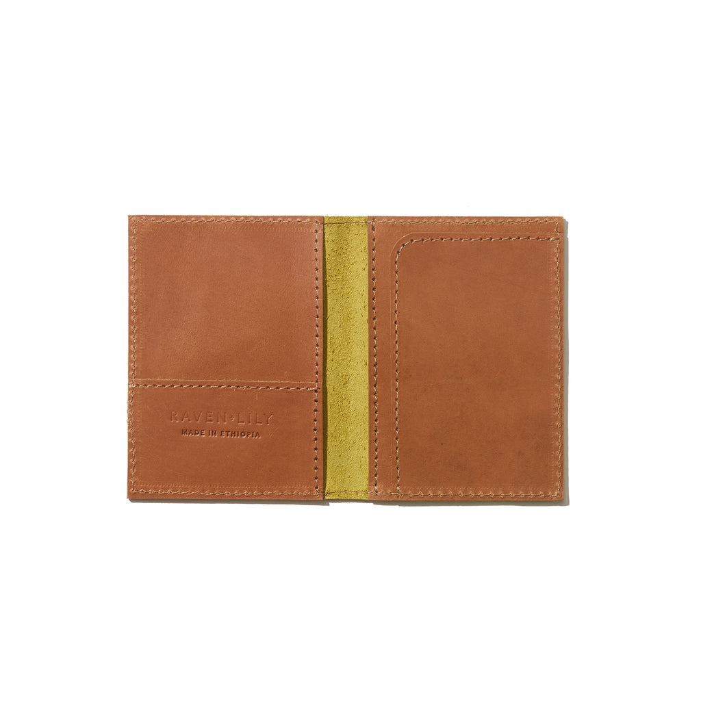 Passport Wallet // Citronelle - Raven + Lily