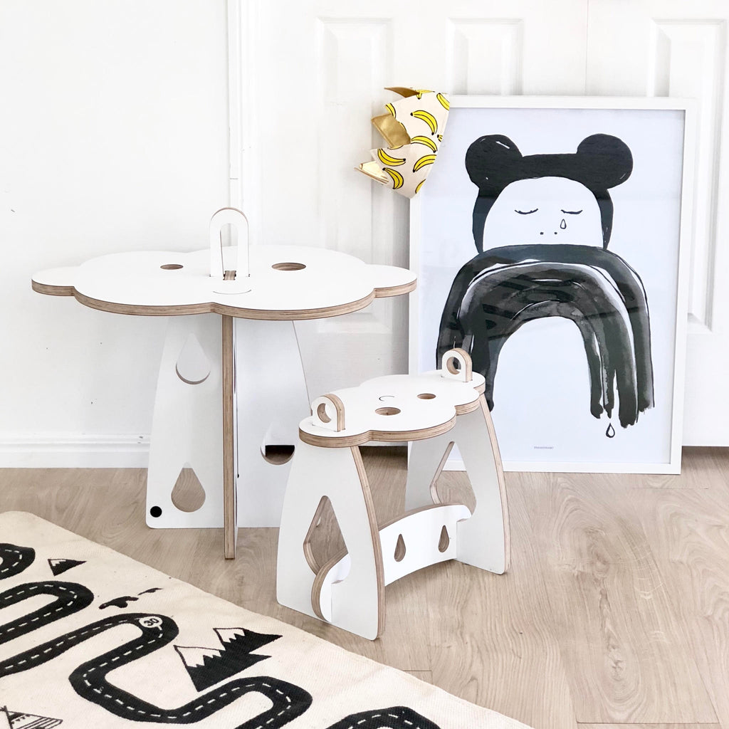 Kloud Table & Stool