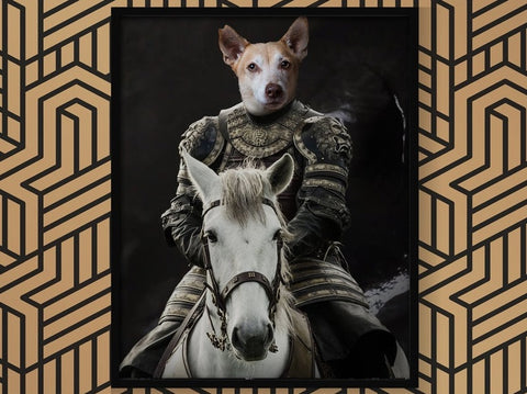 Unique Game of Throne Pet Portrait