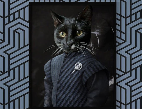 Unique Game of Thrones Tyrion Costume Pet Portrait