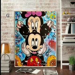 Mickey Mouse Inspired Wall Art G-K