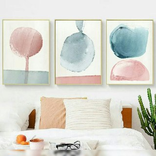 Pastel Wall Art Painting
