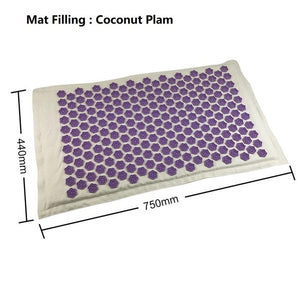 Mat Lotus Spike Acupressure Massager Relaxation Relief Stress Cushion Yoga Mat Relieve Body Stress Pain Spike Winter Yoga Mat