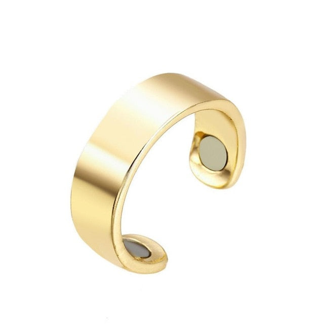 28 Days Natural Fat Burning Fashion Micro Magnetic Weight Loss Ring Fat Burning Slimming Finger Ring health acessories