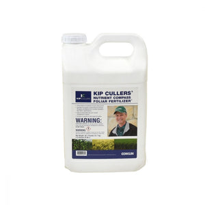 KIP CULLERS' NUTRIENT COMPASS FOLIAR FERTILIZER®- 5 gallon (in two 2.5 gallon containers)- Free Shipping!