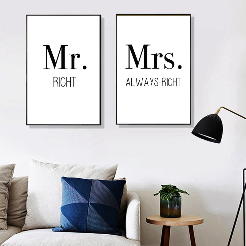 Mrs. Always Right Canvas