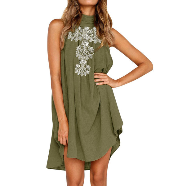 Necessary Irregular Sleeveless Dress